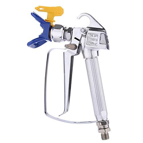CREEXEON PN-006 Airless Paint Spray Gun,High Pressure 3600Psi/248bar with 517 Tip Swivel Joint & Tip Guard