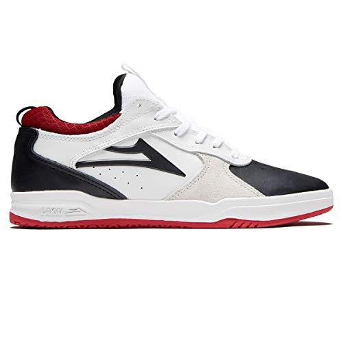 Lakai Skateboard Shoes Tony Hawk Proto White/Black Suede Size 11.5
