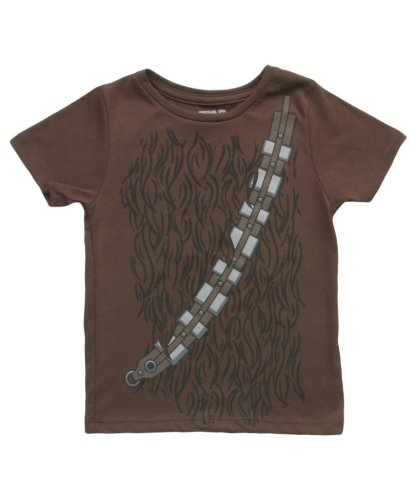 Star Wars I Am Chewbacca Todlers Brown Costume T-Shirt (Toddler 5/6T) (Boys I Am Chewbacca Costume Tshirt)