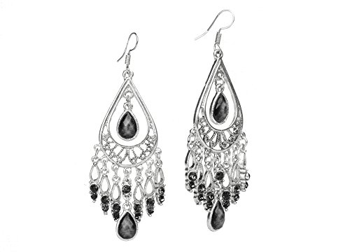 Dangling Chandelier Earrings (Dazzle Flash Vintage Retro Style Tassels Dangle Earring,Fashion Boho Earrings,EAG080-B)