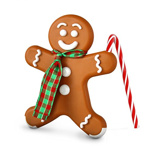 Bright Air Holiday Gingerbread Man Air Freshener, Ginger Cookie (Gingerbread Man Candy Cane)