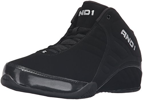 AND1 Men's Rocket 3.0 mid-m Sneaker, Black, 11...