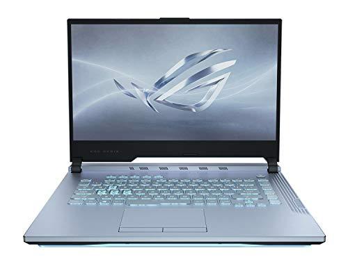 """ASUS ROG Strix G Gaming (9th Gen Core i7-9750H, 16GB RAM, 1TB HDD+256GB SSD, 15.6"""" 120Hz IPS FHD, NVIDIA GeForce RTX 2070-8GB, RGB Backlit-4 Zone, Win 10,GLACIERBLUE) G531GW-AL249T"""
