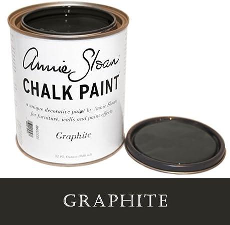 Pintura De Tiza De Annie Sloan Graphite Gris Home Improvement