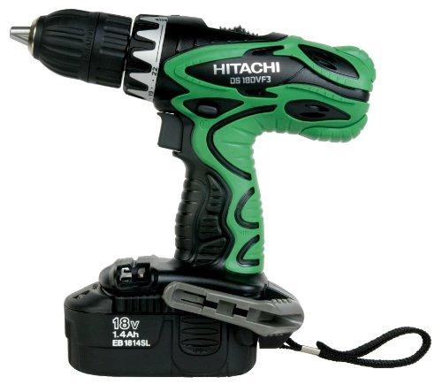 Hitachi DS18DVF3M 18V Cordless NiCd Post Style Driver Drill