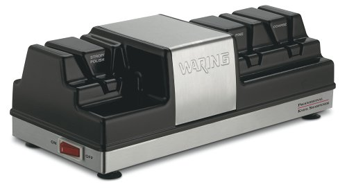 Waring KS80 Sharpener Brushed Stainless