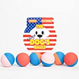 The Dog's Rubber Balls - Premium Tough & Bouncy Rubber Dog Balls - 3 Sizes - Quality Strong Dog Toy for Fetch - Puppy Training - Exercise & Play