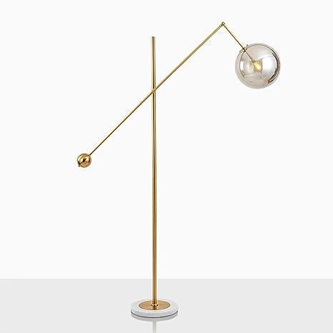 Yxx max *Lámpara de pie Lámparas de pie Bola de Cristal Sala ...