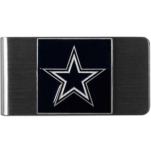Dallas Cowboys Nfl officially License Large Stainless Steel Money Clip Free Shipping Dallas Cowboys Money Clip