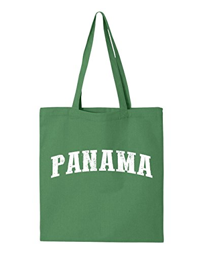 Ugo What To Do in Panama Travel Guide Deals Panama City Map Panamanians Flag Tote Handbags Bags Work School - In Panama Outlets