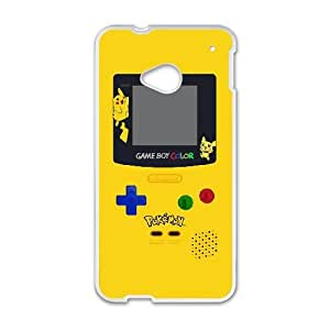 Pokemon Gameboy TPU Case Skin for HTC One M7 Case Cover New Style