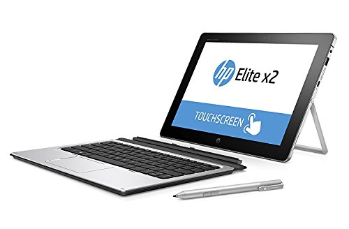 HP Elite X2 1012 G1 2-IN-1 Business Tablet Laptop – 12 inches FHD IPS TouchScreen, Intel Core m5-6Y54, 256GB SSD, 8GB RAM, HP Keyboard + Active Pen, Broadband LTE SIM, Windows 10 Pro (Renewed)