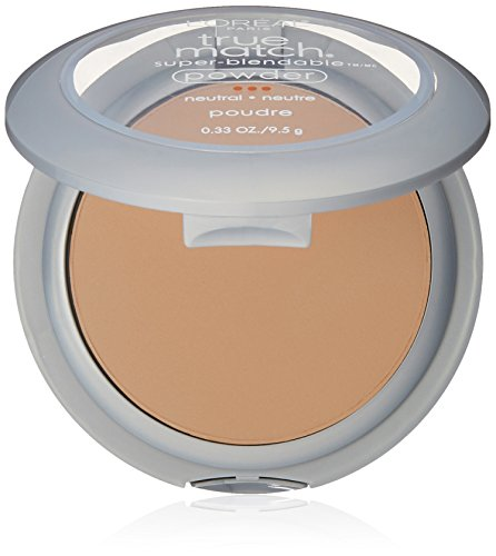 L'Oréal Paris True Match Super-Blendable Powder, Buff Beige, 0.33 (Beige Loreal True Match)
