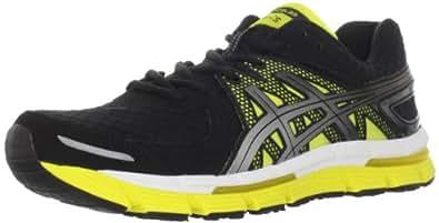 ASICS Men's Excel33 Running Shoe,Black/Lightning/Sun,9.5 M US