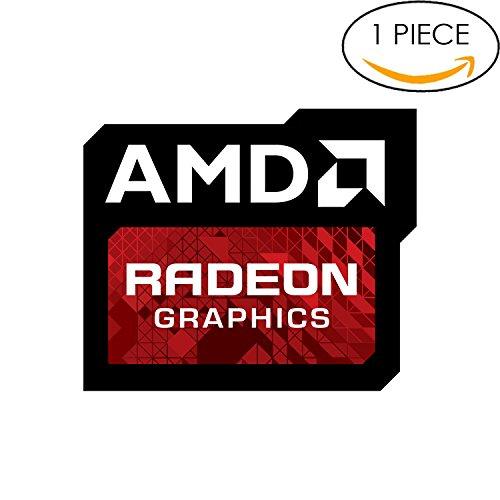 Original AMD Radeon Graphics Sticker 16mm x 20mm with Authentic Hologram Agp Pci Slots