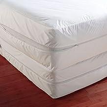 "Anti Bed Bug Mattress Protector, Fits Mattress upto 12"" Thick (Twin)"