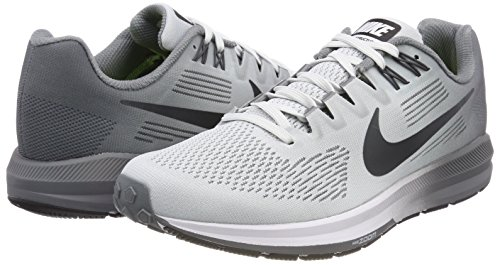Chaussures 005 Pour De Homme Platinum Structure Air Zoom pure Course 21 Nike Or Anthracite Cool 0wqpIn6n