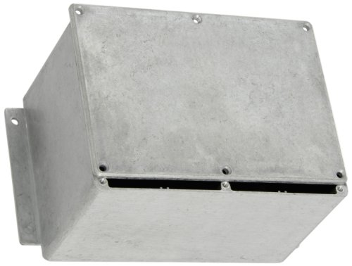 BUD Industries CN-6710 Die Cast Aluminum Enclosure with Mounting Bracket, 6-49/64