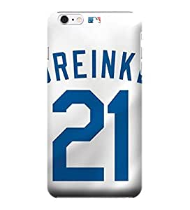 MLB-Los Angeles Dodgers Skin Tough Phone Case Covers,Stylish Protective Covers Compatible For iphone 6(4.7) by mcsharks