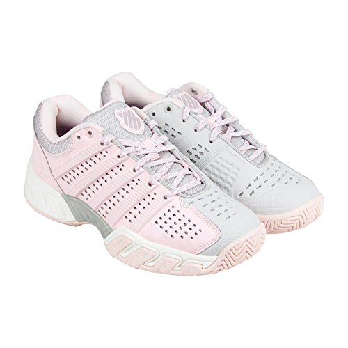 K-Swiss Women's Hypercourt Express Tennis Shoe, Mauve Chalk/Wind Chime, 7 M US
