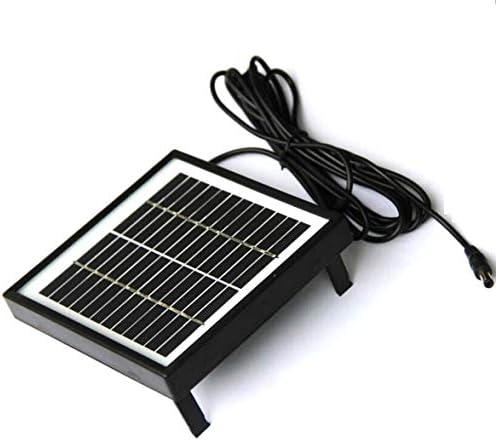 Sylvialuca 2W 12V polykristallines Solarpanel-Laminatglas mit Rand DC3M Kabel Solar Gartenpanel