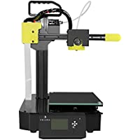 Prizma E-Carry Experimental 3D Printer With Cartesian Structure Fused Deposition Modeling (FDM) - Includes Micro SD Card, Sample PLA Filament, And Auto-Leveling Feature For Accurate Prints