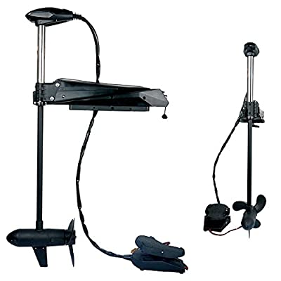 Haswing Cayman PRO 55lbs 12V Bow Mount Cable Steer Electric Trolling Motor