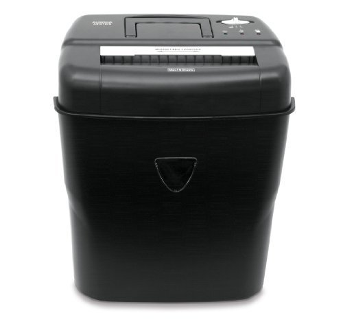 Aurora AS1018CD 10-Sheet Cross-Cut Paper/Credit Card/CD Shredder with Basket by Aurora