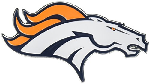 Team ProMark NFL Denver Broncos Die Cut Color Automobile Emblem (Denver Broncos Merchandise)
