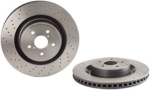 Brembo 09.B533.10 Front and Rear Disc Brake Rotor