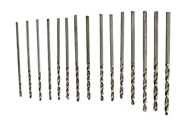 SE 82616MD High Speed Twist Drill Bits(15 Piece)