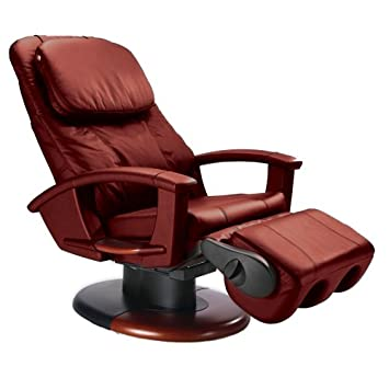 Great Refurbished HT 135 Stretching Robotic Human Touch Massage Chair Red
