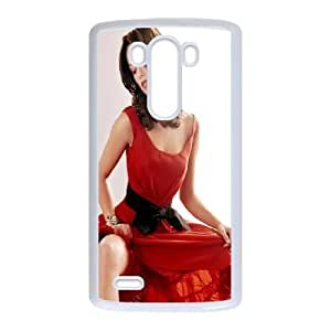 LG G3 Cell Phone Case White_Olivia Wilde In Red Dress Anwwc