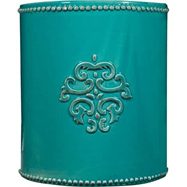 Jillian Utensil Crock in Aqua