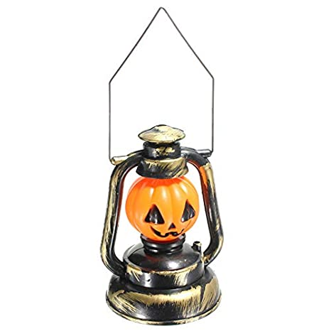 Solmore Pumpkin & Skull Hand Lamp Laughter Lantern Light for Halloween Decoration Gift 1