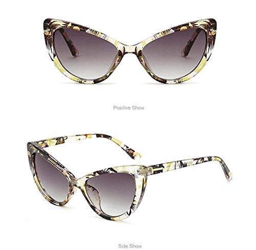 Gafas Sol B Gato Hunpta Diseño de para Mujer de de Ojo B Vintage dqHOHE1xTw