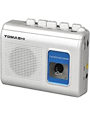 TOMASHI Portable Stereo Cassette Player Microcassette Tape Recorder Walkman with Built-in Speaker for Music,Language Learning Teaching Tool for Students,Adult,Kids