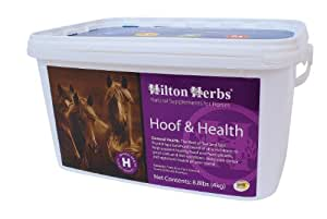 Hilton Herbs Hoof and Health Optimum Hoof Health Supplement for Horses, 4kg Tub
