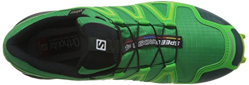 Salomon L38311900, Zapatillas De Trail Running para Hombre Verde (Athletic Green X /     Peppermint /     Granny)
