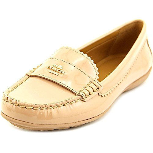 COACH Women's Odette Warm Blush Patent Flat by Coach