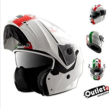 CASCO CABERG DUKE LEGEND ITALIA ABATIBLE+GAFAS
