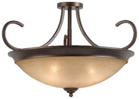 Triarch 31401-20 Costa Semi Flush Convertible Large -