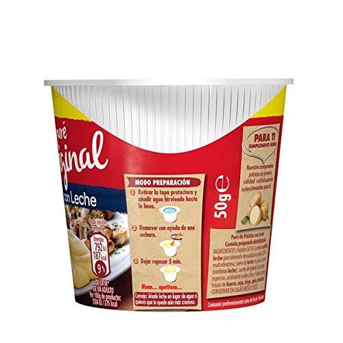 Maggi - Puré Original Cups - 50 g - [Pack de 8]: Amazon.es: Alimentación y bebidas