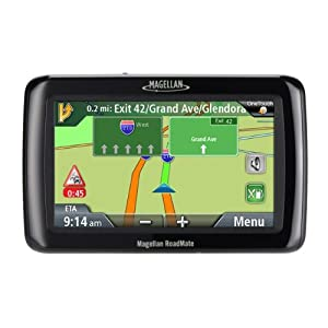 Magellan RoadMate 2045 4.3-Inch Widescreen Portable GPS Navigator with Lifetime Traffic