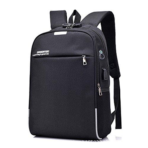 smart USB charging backpack student bag multi-function business computer bag