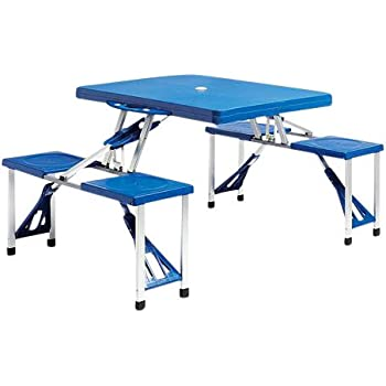 portable folding plastic kids picnic table u0026 chair set indoor outdoor activity table