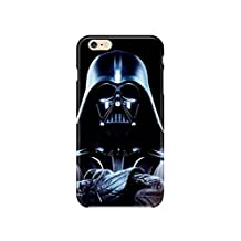 """iPhone 6/6s (4.7"""") Star Wars Silicone Phone Case / Gel Cover for Apple iPhone 6S 6 (4.7"""") / Screen Protector & Cloth / iCHOOSE / Darth Vader"""