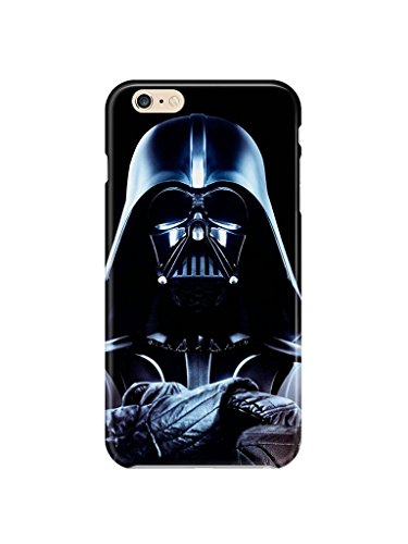 iPhone 7 Plus Star Wars Silicone Phone Case / Gel Cover for Apple iPhone 7 Plus / Screen Protector & Cloth / iCHOOSE / Darth Vader ()