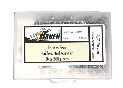 - Revo 260 Piece Stainless Steel Hex Screw Kit