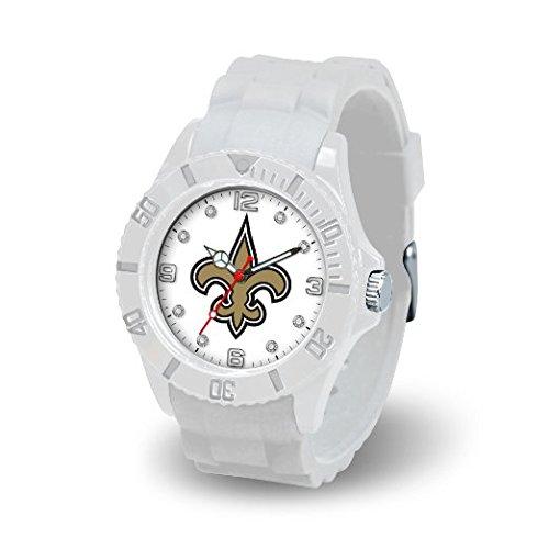 Rico Industries NFL New Orleans Saints Women's Cloud Watch -